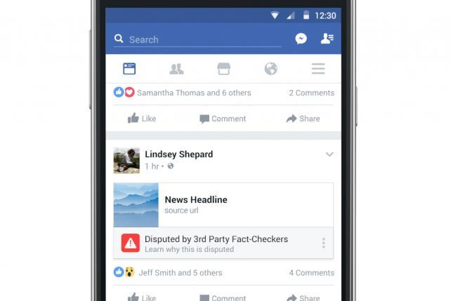 Blog: Collaborating with facebook to combat fake news
